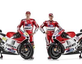 """Ducati ra mắt """"vũ khí"""" Desmosedici GP15 hoàn toàn mới"""