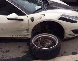 Hàng hiếm Ferrari 458 Siracusa bản độ Mansory gặp nạn