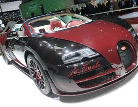 Chiếc Bugatti Veyron cuối cùng ra mắt
