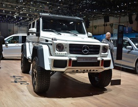 """""""Hàng khủng"""" Mercedes G500 4x4² gây ấn tượng tại Geneva"""