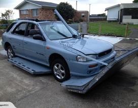 Độ Subaru Impreza thành xe lưỡng cư