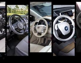 10 thiết kế nội thất xe hơi xuất sắc nhất năm 2015