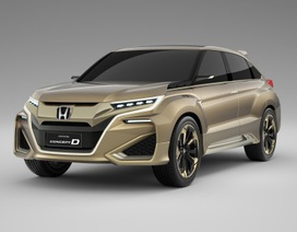 Concept D tạo tiền đề cho mẫu SUV mới của Honda