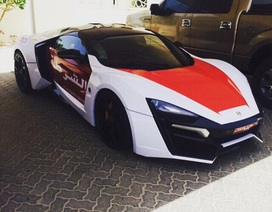 """Cảnh sát Abu Dhabi """"tuyển"""" siêu xe giống trong Fast & Furious 7"""