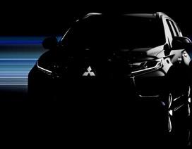Hình ảnh chính thức đầu tiên về Mitsubishi Pajero Sport mới