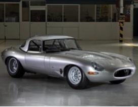 Jaguar hồi sinh siêu phẩm E-Type Lightweight LWE
