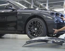 Xe BMW 5 GT được nguỵ trang như thế nào?