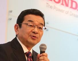 CEO của Honda không có ô tô riêng