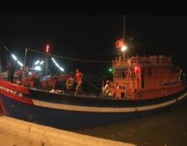 Cứu 7 ngư dân gặp nguy trên biển Hoàng Sa