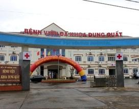 Bệnh viện Đa khoa Dung Quất chính thức hoạt động trở lại