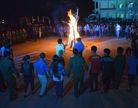 Quảng Ngãi: Tân binh cháy hết mình trước ngày nhập ngũ