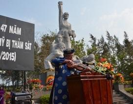 Tưởng niệm 504 người vô tội trong vụ thảm sát Sơn Mỹ