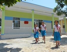 Khánh thành trường mẫu giáo kiêm nhà tránh bão ở đảo Lý Sơn