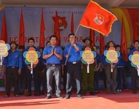 Quảng Ngãi: Hàng ngàn đoàn viên ra quân tình nguyện hè