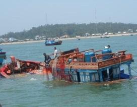 Chìm tàu cá ở Trường Sa, 32 ngư dân được cứu an toàn