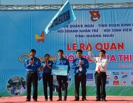 Đưa hơn 1.000 thí sinh Quảng Ngãi đi thi miễn phí