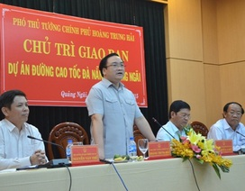 Đường cao tốc Đà Nẵng - Quảng Ngãi: Chạy tiến độ trước mùa mưa lũ