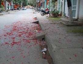 Pháo vẫn nổ ở Lào Cai