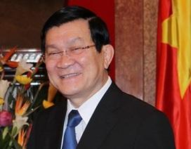 Chủ tịch nước thăm cấp Nhà nước CHND Trung Hoa