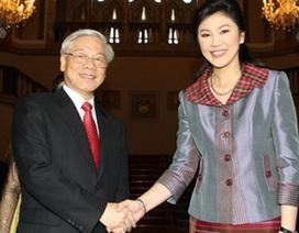 Nâng quan hệ Việt - Thái Lan lên tầm đối tác chiến lược