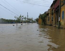 Lũ lên quá nhanh, nhiều nơi bị nhấn chìm