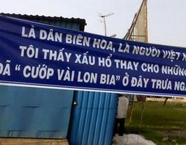 """Vụ """"hôi"""" bia ở Biên Hòa: Tấm băngrôn của lòng tự trọng"""