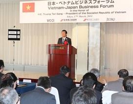 Phát biểu của Chủ tịch nước tại diễn đàn doanh nghiệp Việt - Nhật