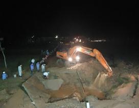 Vỡ đường nước sông Đà, 70.000 hộ dân Hà Nội mất nước