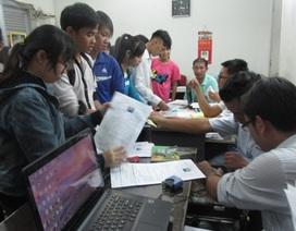 TPHCM: Hồ sơ đăng ký thi Cao đẳng tăng