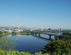 Ottawa, nét dịu dàng ngày xanh