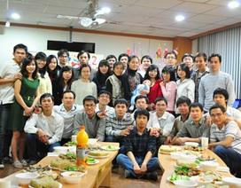 Du học sinh và mùa xuân trên xứ Kim chi
