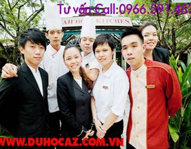 Tuyển sinh thực tập ngành nhà hàng, khách sạn và nấu ăn hưởng lương cao tại Singapore
