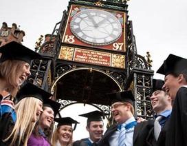 Học bổng ưu đãi đại học công lập Chester - Anh Quốc, kỳ nhập học tháng 11, 4, 8