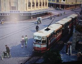 Hình ảnh tàu điện Hà Nội quá khứ và tương lai