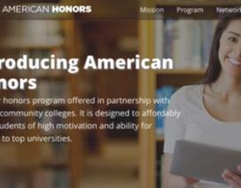 American Honors: Bước đột phá của Cao đẳng cộng đồng Mỹ