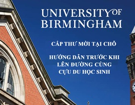 ĐH Birmingham tổ chức buổi hướng dẫn trước khi lên đường -cấp thư mời học trực tiếp