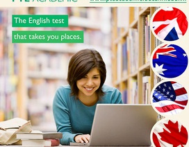 PTE Academic - Lựa chọn mới dành cho người thi chứng chỉ tiếng Anh