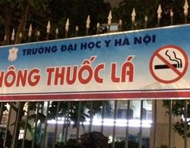 Tăng cường xử phạt hút thuốc lá nơi công cộng