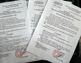 Thanh Hóa: Hàng loạt cán bộ xã bị kỷ luật, cách chức