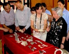 Phát hiện lò sản xuất gốm men thời Trần?