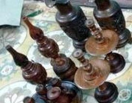 Bắt nhóm đối tượng trộm đồ thờ bằng gỗ huê trị giá gần 1,5 tỉ đồng