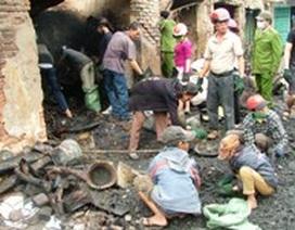 Cháy chợ Ba Đồn: Trắng tay trước Tết Nguyên đán