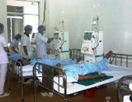 Bệnh viện Đa khoa khu vực Bắc Quảng Bình tiếp nhận 4 đơn vị thận nhân tạo