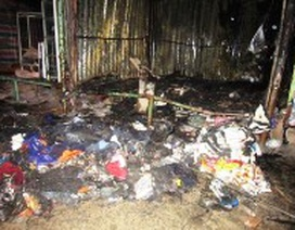 Khẩn trương điều tra nguyên nhân vụ cháy chợ ở Phong Nha
