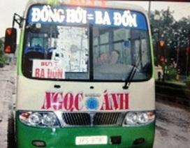 Quảng Bình: Tuyến xe buýt Đồng Hới - Phong Nha đã hoạt động trở lại