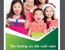VietcomBank tặng đến 2 triệu đồng cho khách hàng sử dụng thẻ ghi nợ nội địa