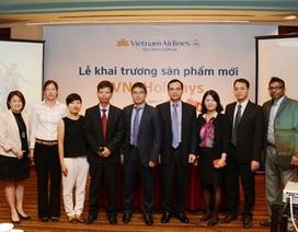 Vietnam Airlines lựa chọn Vietcombank làm ngân hàng thanh toán cho sản phẩm mới VNA Holidays