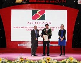 Agribank 5 năm liên tiếp nhận giải Top 10 VNR500