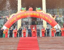 VietinBank tài trợ xây dựng Nhà văn hóa thị xã Phú Thọ