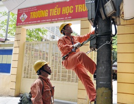 Hà Nội: Đảm bảo điện trong kỳ thi tuyển sinh THPT